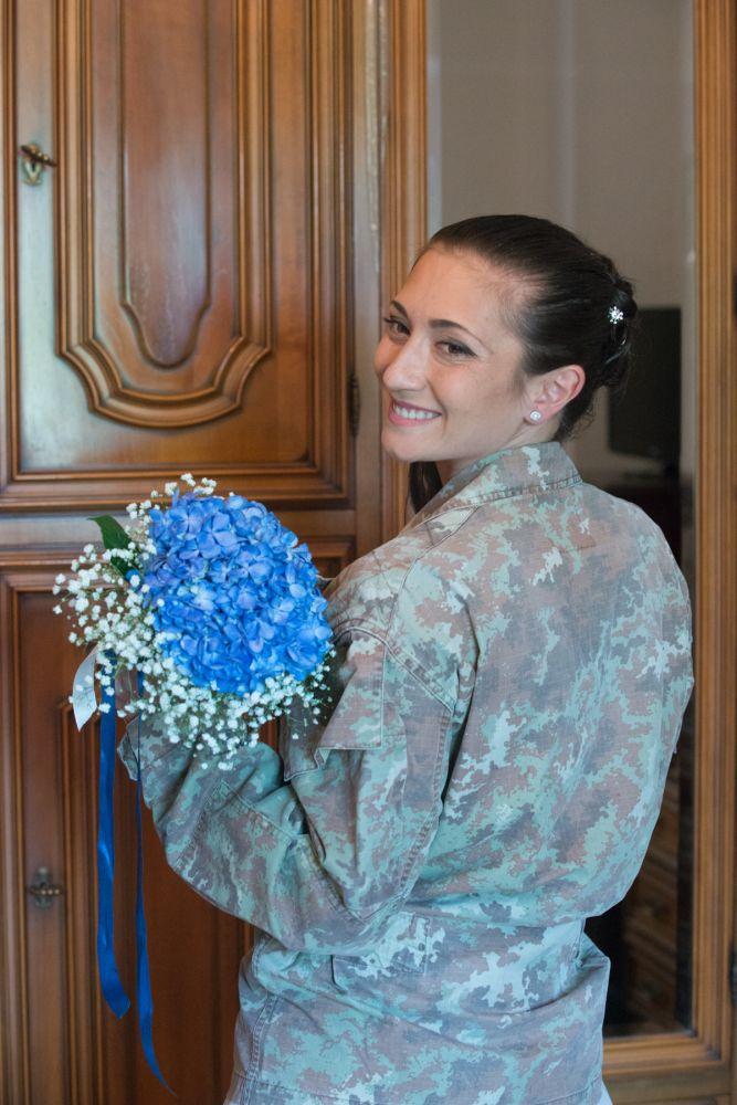 Giorgia tra matrimonio e servizio militare
